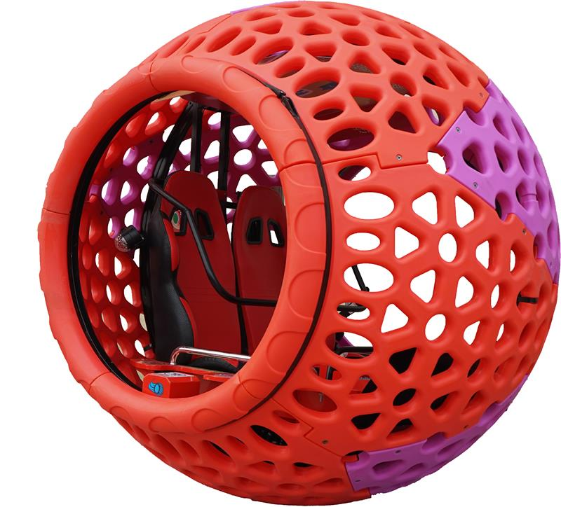 Hamster Ball Playground Equipment