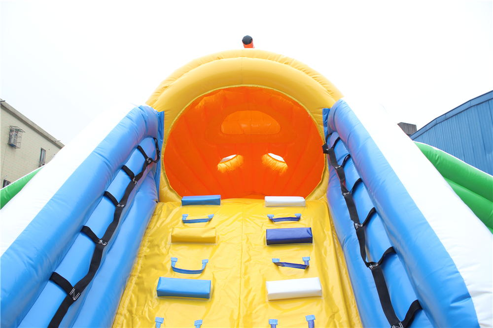 giant submarine inflatable water slide