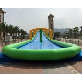 Long Giant Inflatable water slide