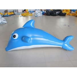 inflatable floating dolphin for pool