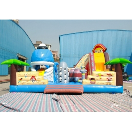 Blue Whale Inflatable Jumping Castle