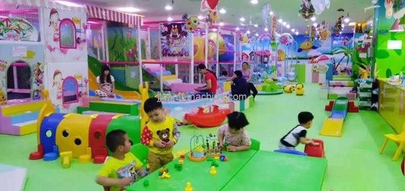 Why do indoor children's parks need innovative innovation?
