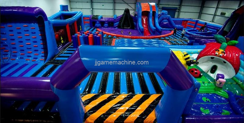 How To Lengthen Life Time Of The Bouncy Castles