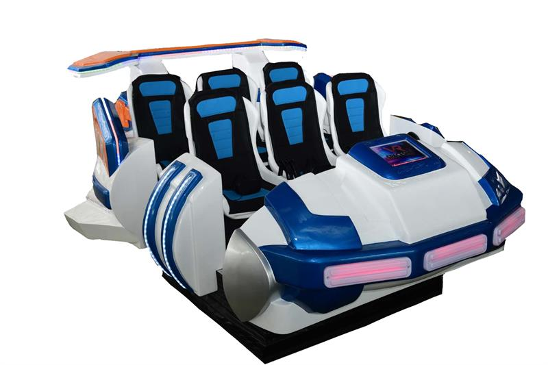 6 seats flight simulator spaceship
