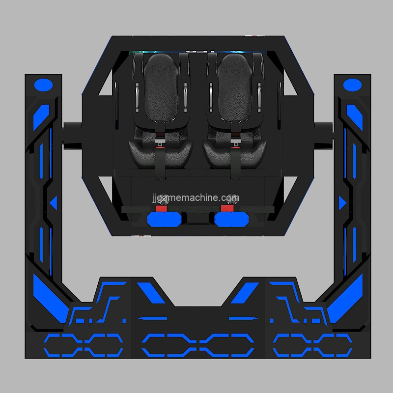 Virtual Reality games 720 rotation chair Iron Warrior VR simulator game machine