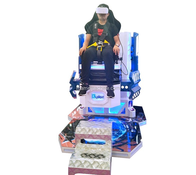 Single VR Jumping chair 9D VR simulator game machine