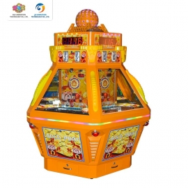 Gold Castle coin pusher lottery game machine