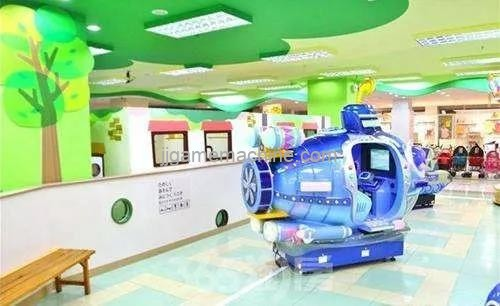 The outstanding design of the children's area will make the family love shopping