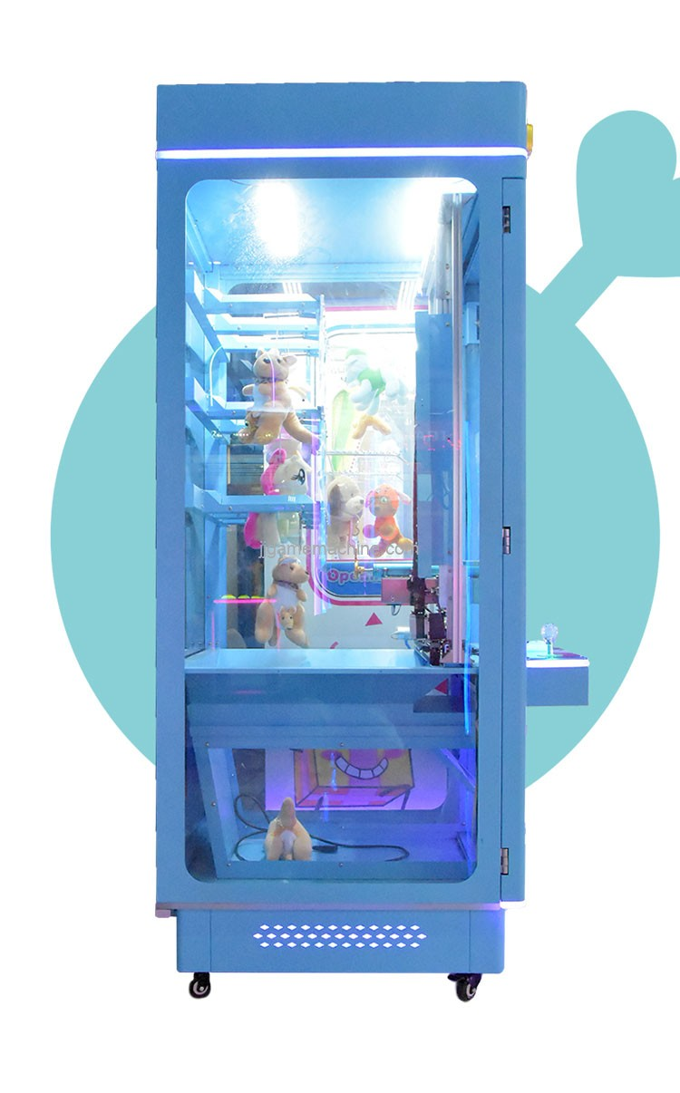 Skill crane arcade key master game machine with winning prize