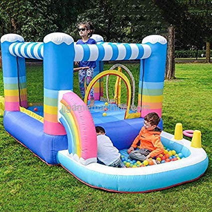 Inflatable Trampoline: Give Kids A Jumping Space