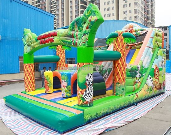 Hope And Future: Inflatable Castle