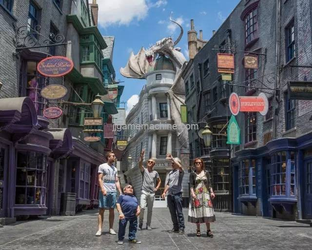 How does the theme park actively respond to changes in passenger traffic?