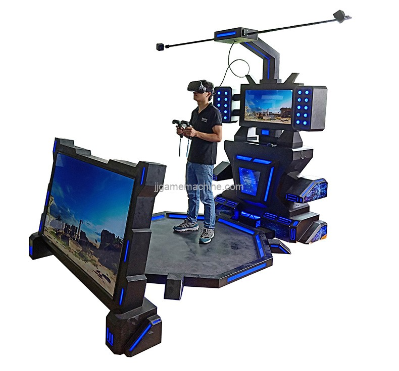 VR simulator virtual reality music commercial game machine arcade game video games