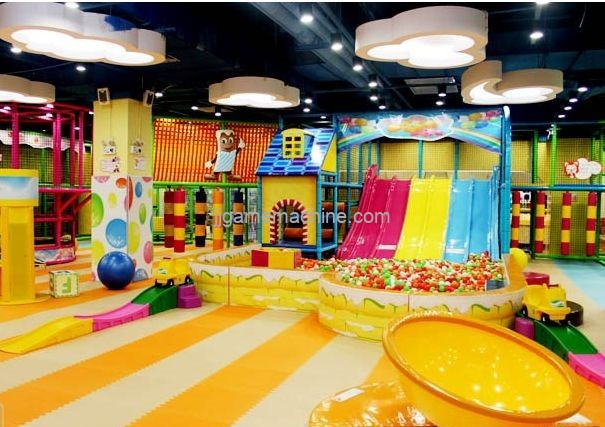 5 major directions of the development of the indoor children's playground industry