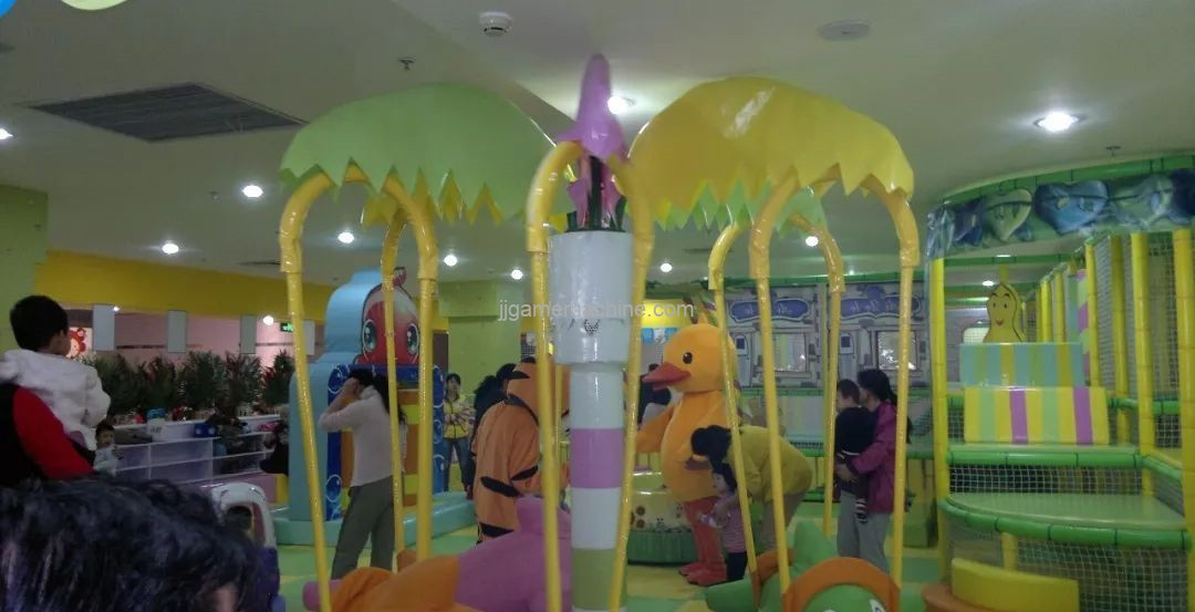 Indoor children's playgrounds must operate in such a differentiated way to make money
