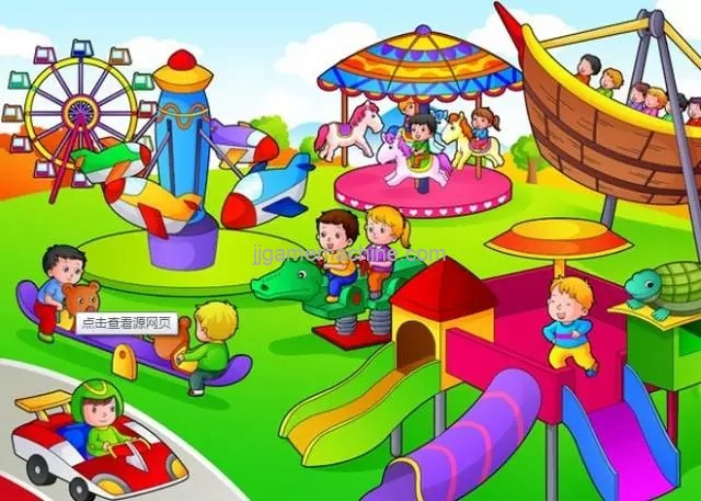 Four safety rules, must know when playing in the playground