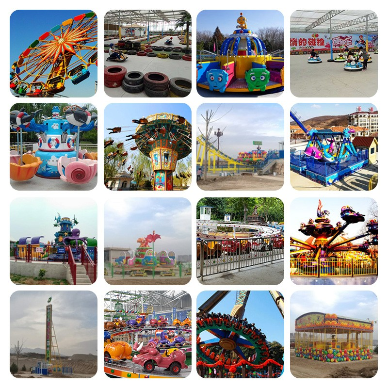 sqv large outdoor carousel amusement equipment scenic area roller coaster children's Park playground facilities