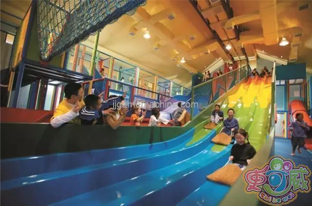 The new children's amusement park has more business opportunities