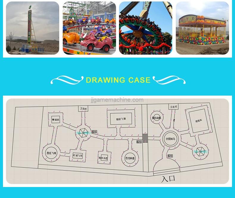amusement park drawing case