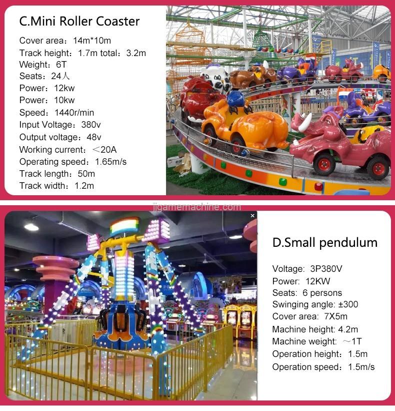 c.mini roller coaster