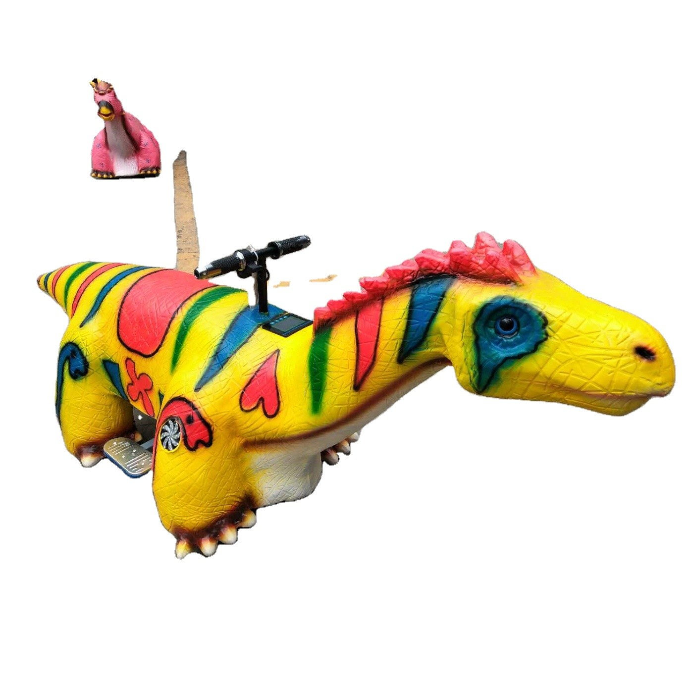 Ride on car kids electric car other amusement equipment dinosaur car