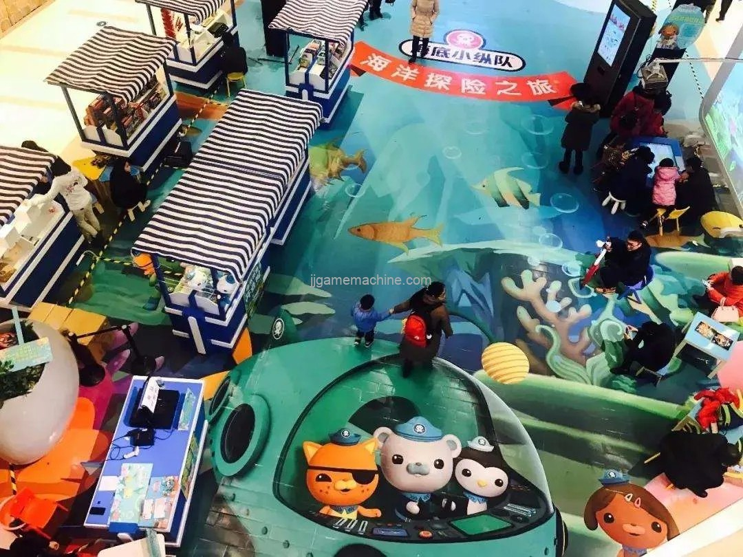 """Parent child card"" has become the mainstream trend of shopping center play experience"