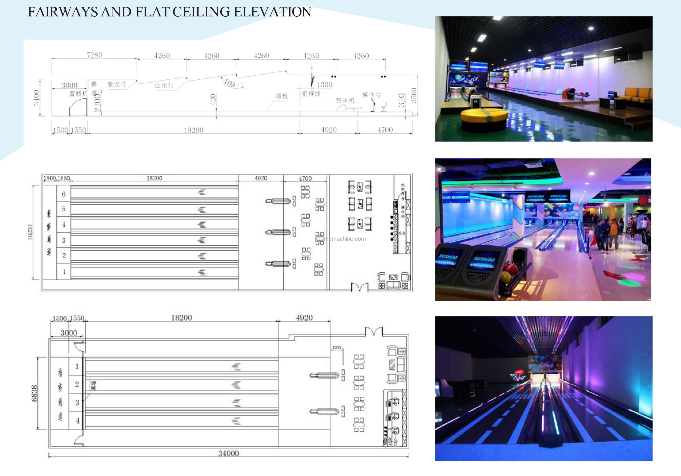 Double lanes many lanes available electric simulated bowling game indoor amusement equipment