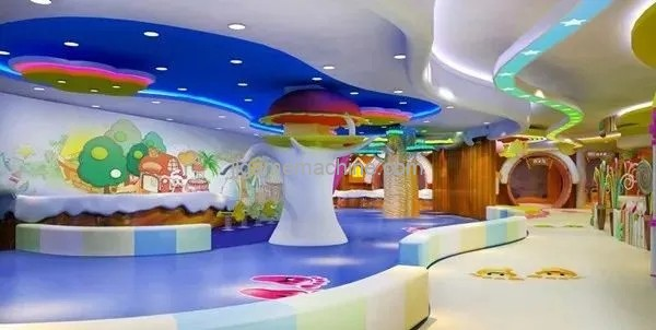 """With the change of the whole market, many people have seen the business opportunity of """"children's paradise"""""""