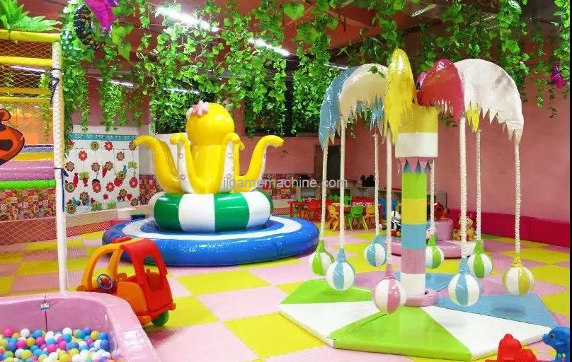 Make the children's paradise continuously attract children