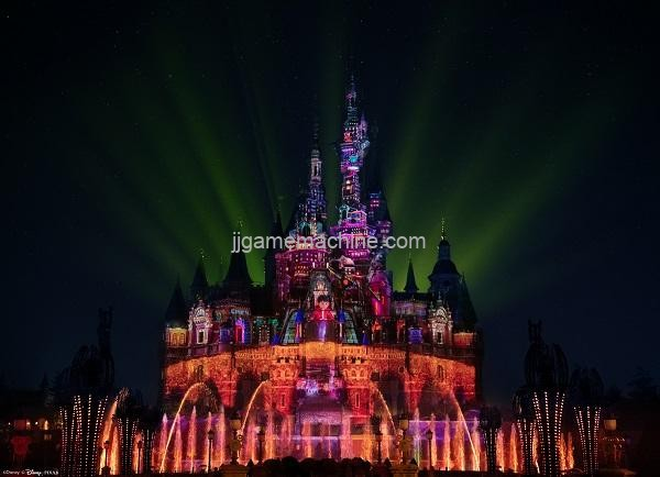 "Shanghai Disneyland's new ""Dreamlight Phantom Show"" will light up the night sky"