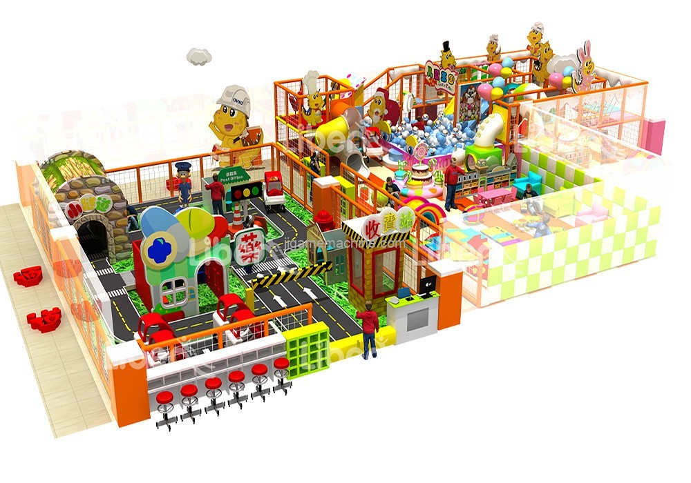 What are the conditions for opening an indoor children's playground?