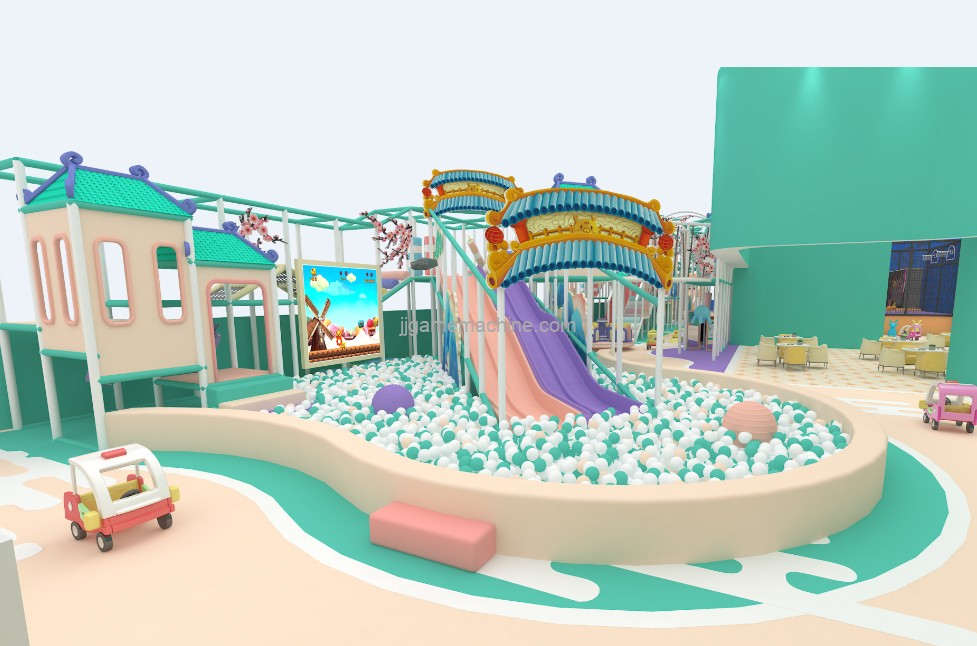 Shopping center provides many excellent places for children's amusement park, which makes the development of children's amusement park to a higher level