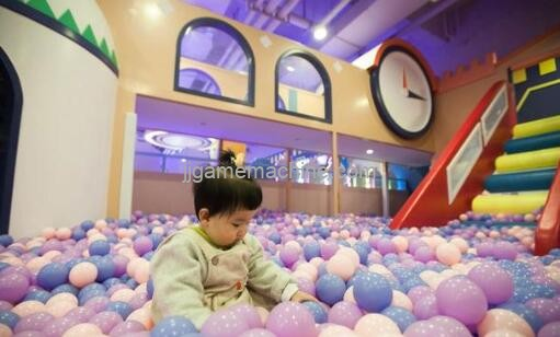 What does Soft Indoor Playground do?